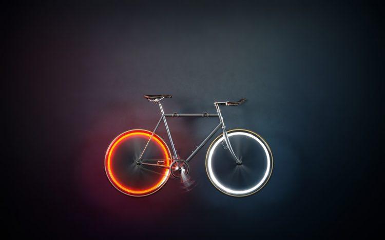 バッテリー交換や充電の心配なし!磁力で発光するLEDホイールライト「Arara」