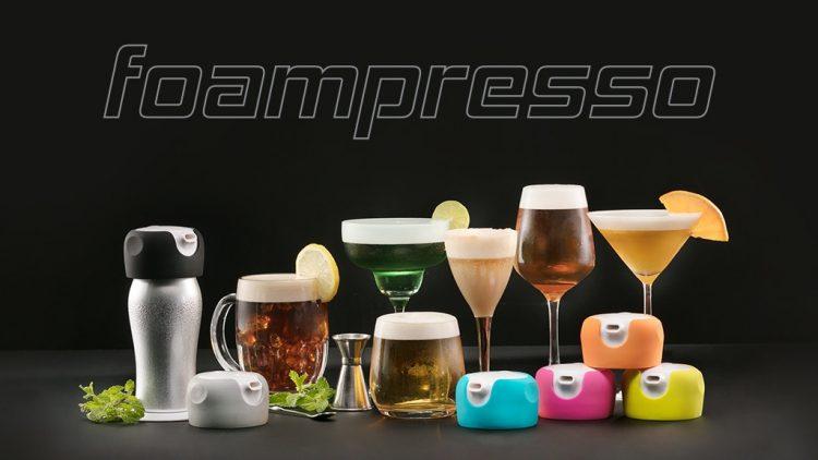 超お手軽なビアカクテル製造マシン「FOAMPRESSO」。プロ並みの泡立ち
