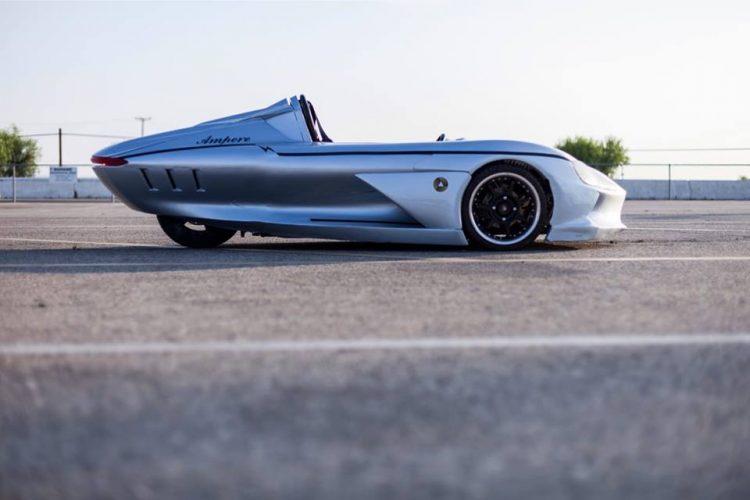 最速120km!ワクワクに満ちるオープン3輪EV「Ampere 1」