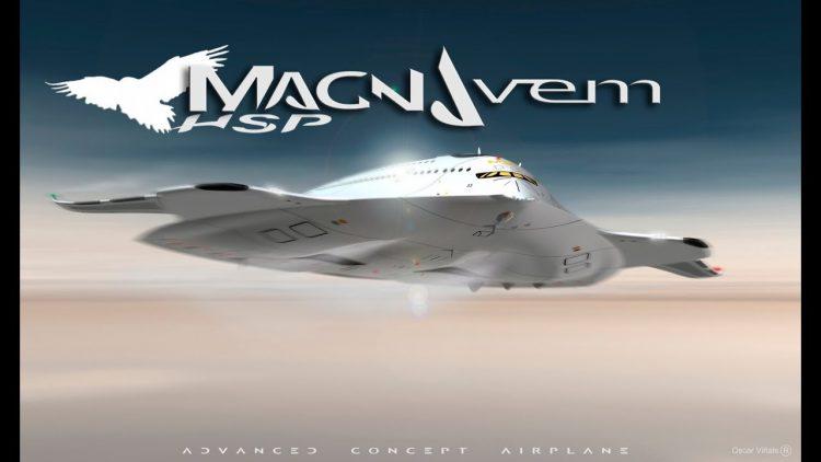 まるでUFO!小型核融合炉を搭載した世界最大のデルタ型航空機「Magnavem」