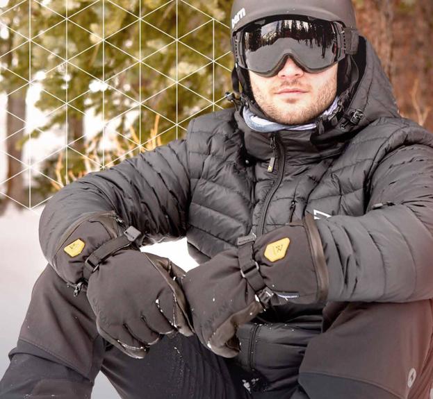 最大6.5時間も暖かい電熱グローブ「Ravean」。冬レジャーでの寒さ対策