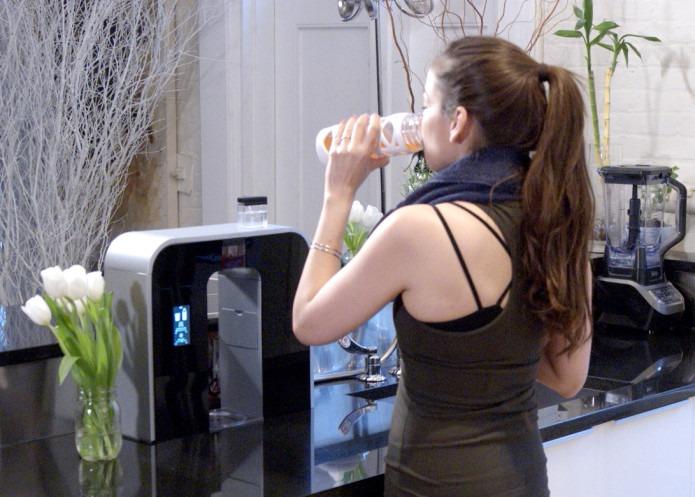 家庭用炭酸水サーバー「rOcean」。ペットボトル要らずで地球に優しい