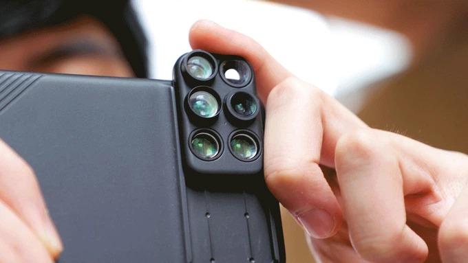 あらゆるシャッターチャンスに対応するiPhone用カメラレンズセット
