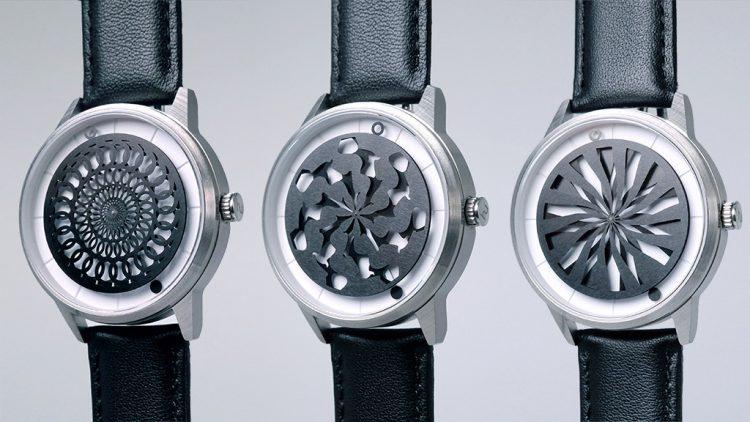 万華鏡のような文字盤の腕時計「Humism」が美しすぎる