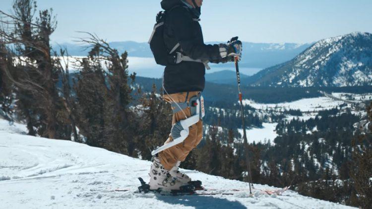 スキー・スノボをより長く楽しめる!疲れを軽減するパワードスーツ