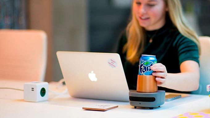 飲み物を急速冷却する斬新家電「CupCooler」。冷蔵庫より6倍早い