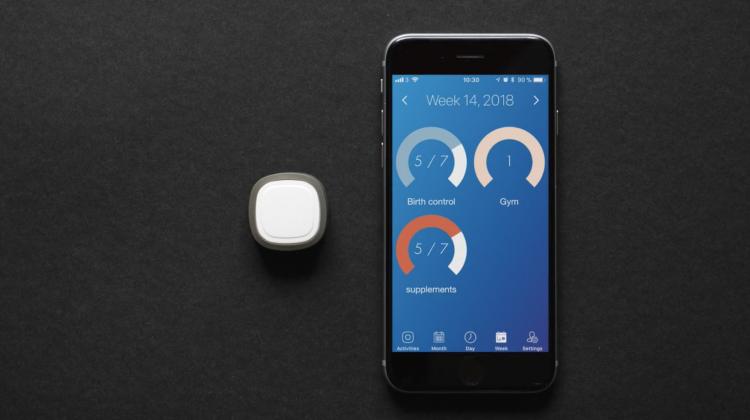 日々の習慣化を助ける斬新発想ボタン。リマインダーとしても活躍
