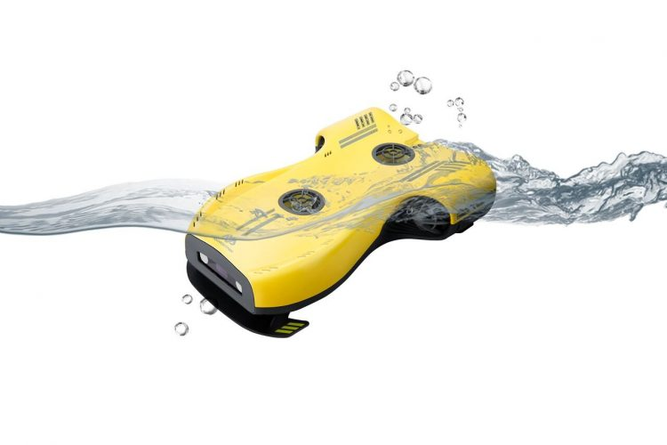 4K撮影対応の海中ドローン「Nemo」。VR連携も可能なレジャーの新アイテム