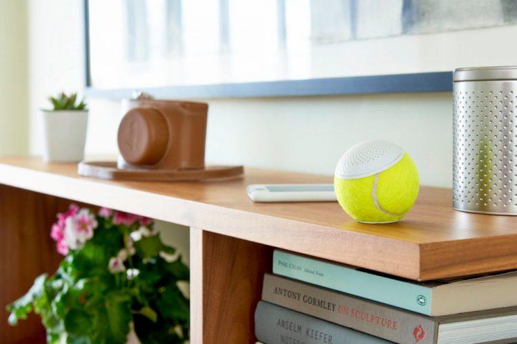 テニスボールを再利用!地球環境に優しいワイヤレススピーカー「hearO」