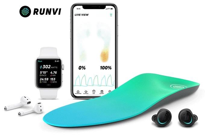 AIコーチング機能付き!ランニングをデータ化するスマート中敷き「RUNVI」