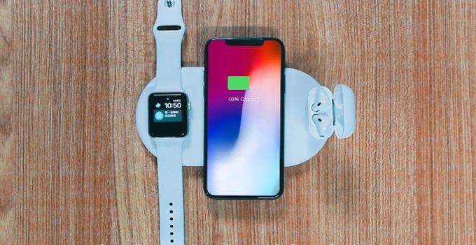 Apple製品を一斉充電!Androidスマホにも対応の充電パッド「La Orey」