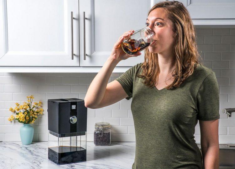 暑い夏に最適!本格派アイスコーヒーを自宅で抽出できる「BrewCube」
