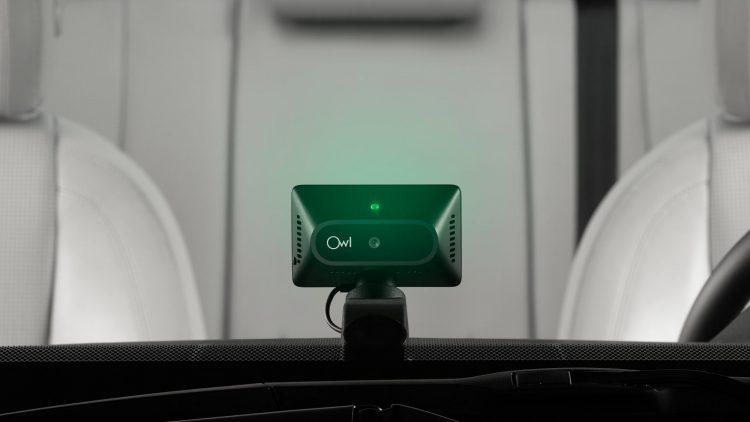 事故の瞬間をクラウド保存!超小型ドライブレコーダー「Owl Car Cam」