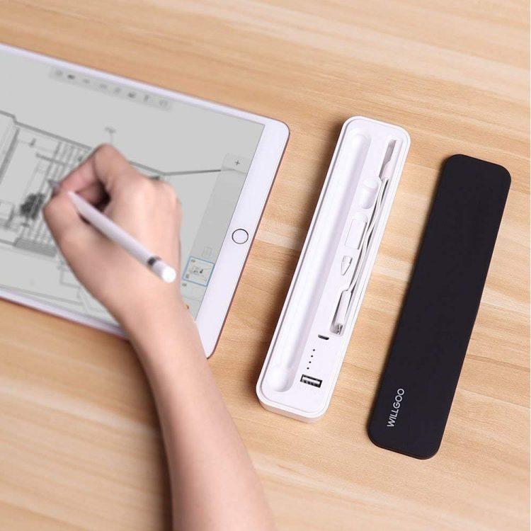 Apple Pencilの紛失を防止!モバイルバッテリー機能付きの収納ケース