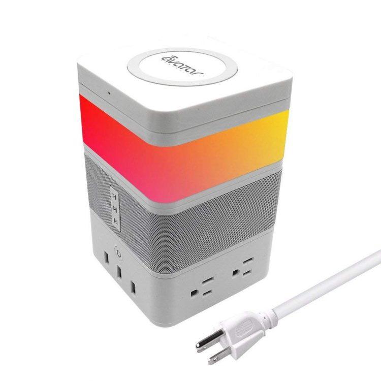 ワイヤレス充電対応!モジュール式の多機能スマート家電「FreeCube」