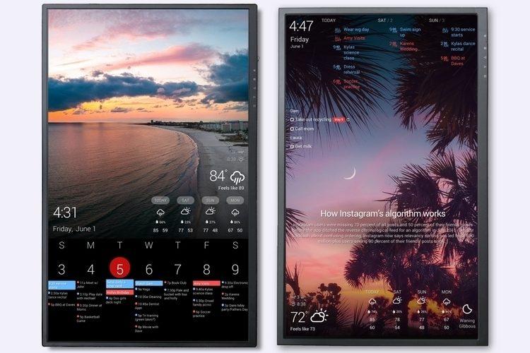 アプリと連動も可能!壁掛けデジタルカレンダー「Dakboard Wall Display v2」