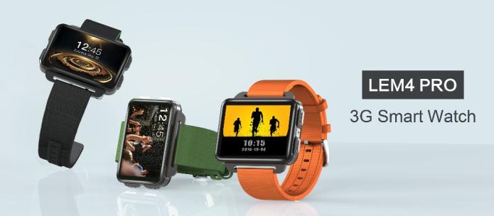 画面が大きく使いやすい。最新スマートウォッチ「LEM4 Pro」