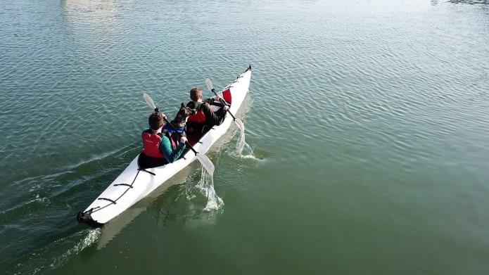 車内に収納可能!折り畳めるタンデムカヤック「Oru Kayak Haven」