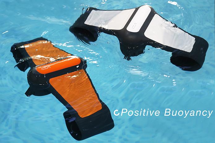 水中探索の心強い味方。高性能な小型水中スクーター「Trident」