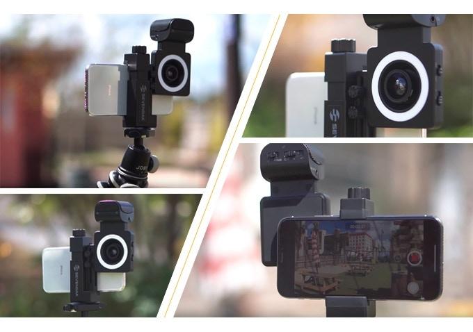 誰でもスマホでプロ並みの動画が撮れる!動画撮影キット「SmartCine」
