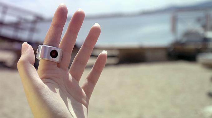 水中でも使用可能!ウェアラブルな指輪型カメラ「INSTA RING」