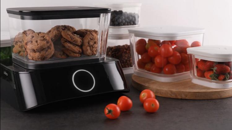 食材の鮮度を保つ!Alexaを装備した真空保存システム「Silo」