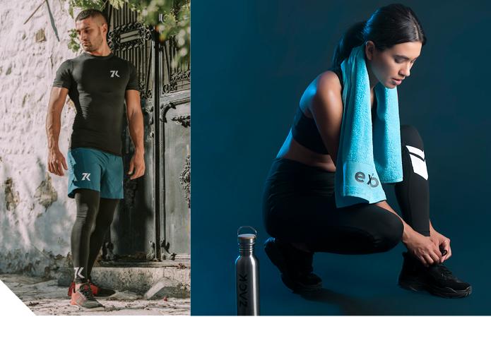 スマホと連携!着るだけでデータを記録できるスポーツウェア「EXISOM」