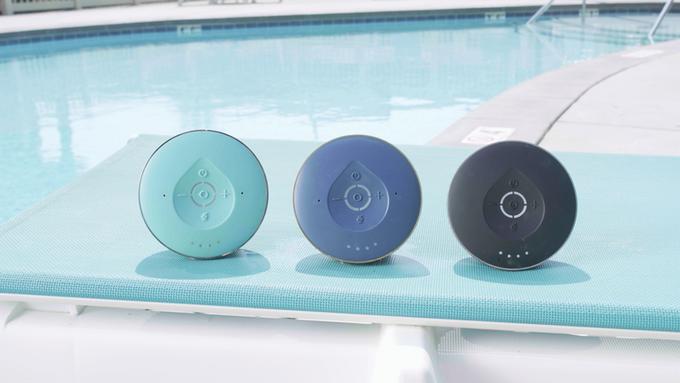 浴室にもAIアシスタントを!Alexa搭載防水スピーカー「Aqua Dew」