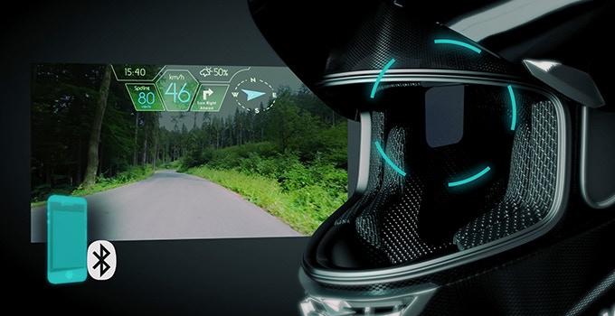 ヘッドアップディスプレイ搭載!画期的なスマートヘルメット「JARVISH X-AR」