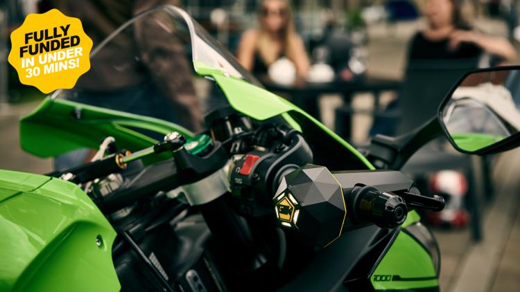 自転車・バイクの盗難防止に!愛車を守る究極のスマートアラーム「Limpet」
