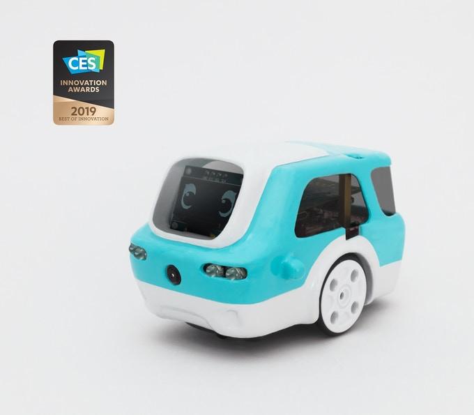 人工知能と自動運転を楽しく学べる!かわいいロボットカー「Zümi」