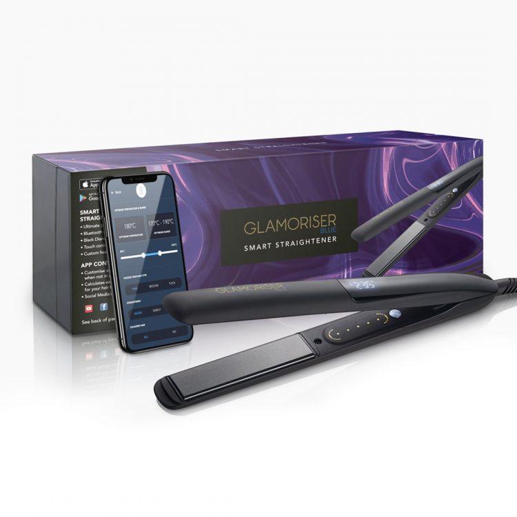 Bluetooth搭載!スマホで温度管理ができるヘアアイロン「Glamoriser Smart Straightener」