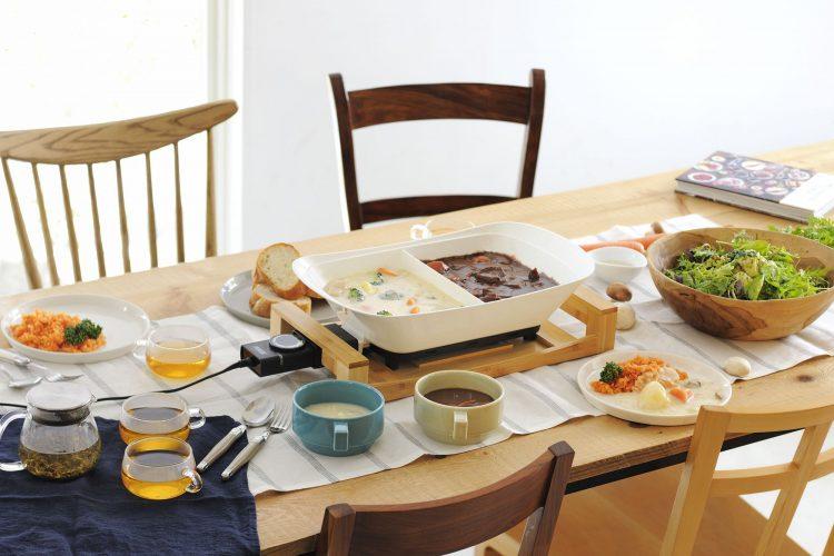 ひとつの鍋で2つの料理!プリンセスの新製品で食卓がもっと楽しく