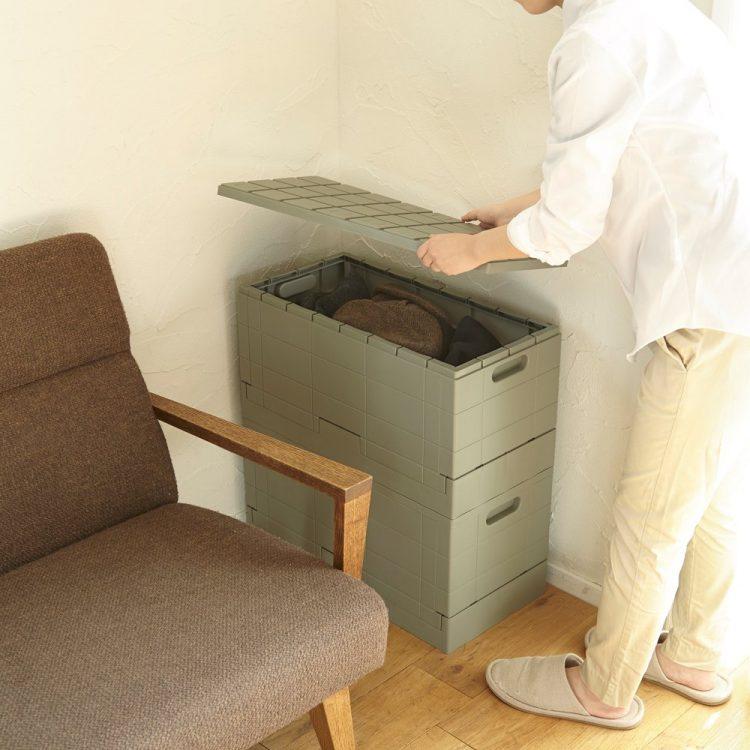 折りたたみコンテナのおすすめ10選。便利で使いやすい収納アイテム