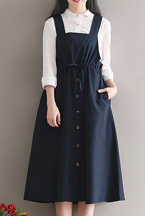 サロペットスカートのおすすめ11選。おしゃれなコーデも簡単