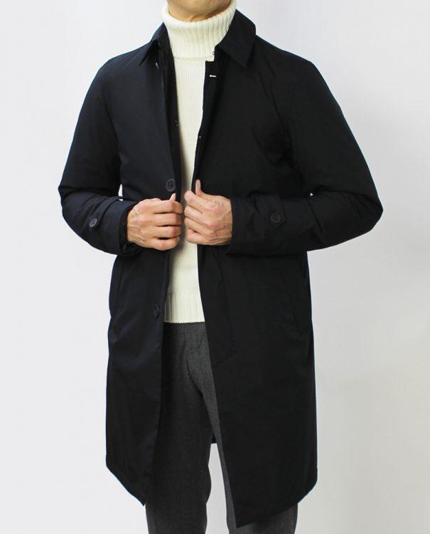 ステンカラーコートのイメージ