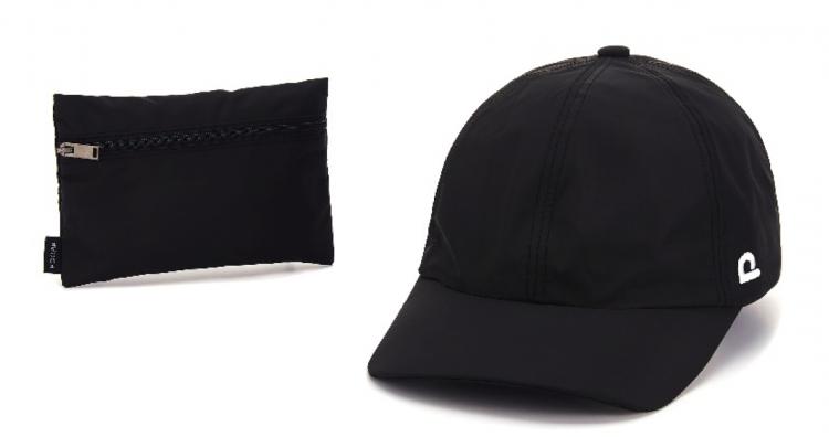 ツバまで折ってポケット収納もできる!型崩れしない帽子「POCAP」