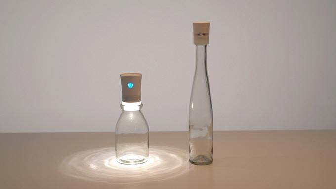 どんなボトルもスピーカーに変身!コンパクトなBluetoothスピーカー「Cork 2 Wireless Speaker」