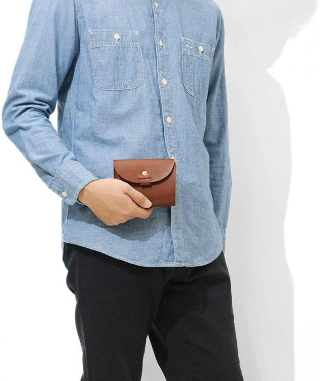三つ折り財布のイメージ