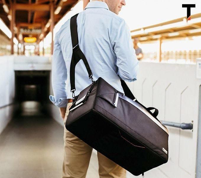 高耐久仕様のプレミアムバッグ「タスキンキューブ2」が登場。仕事も旅行もこれでOK