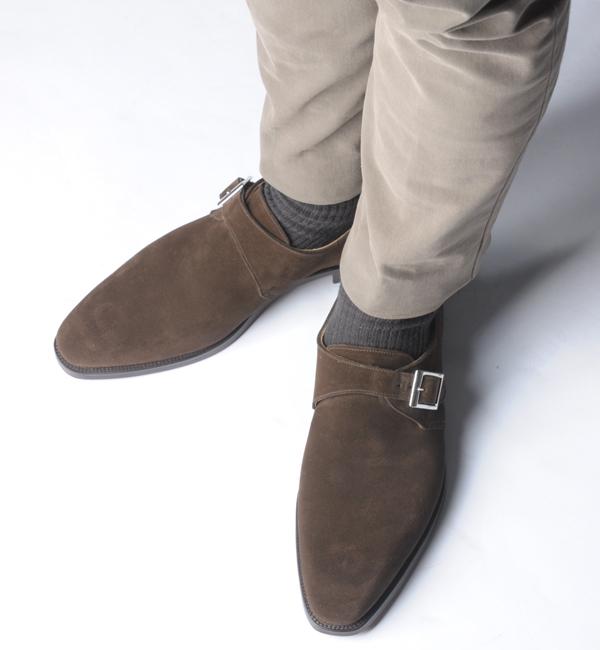 スエード靴のイメージ