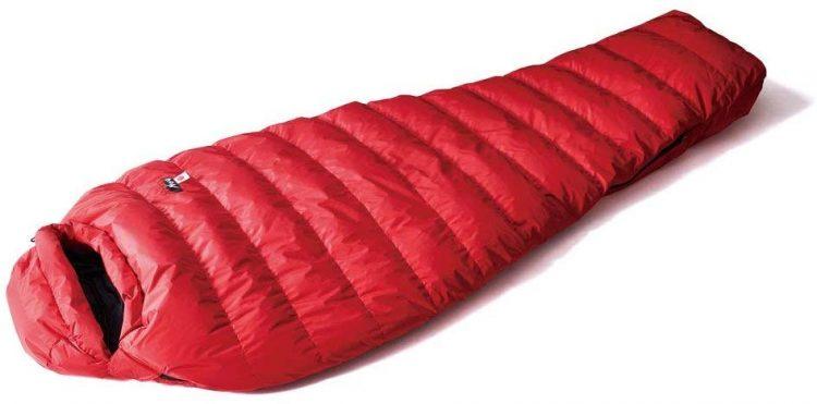 寝袋(シュラフ)のイメージ