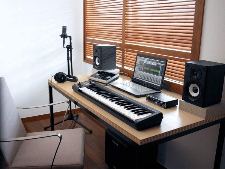 MIDIキーボードのイメージ