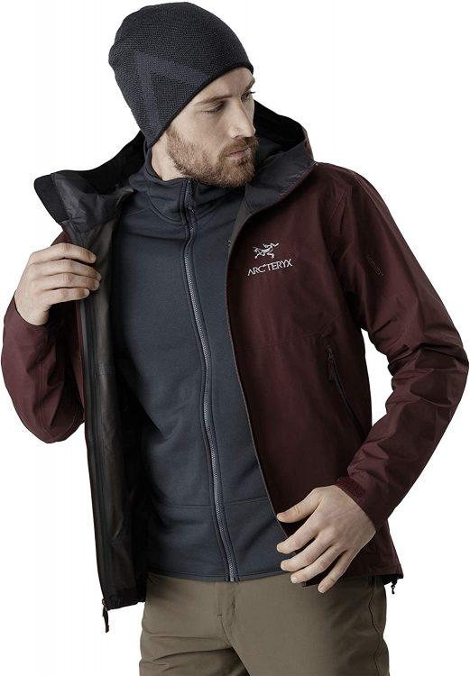 ゴアテックスジャケットのイメージ