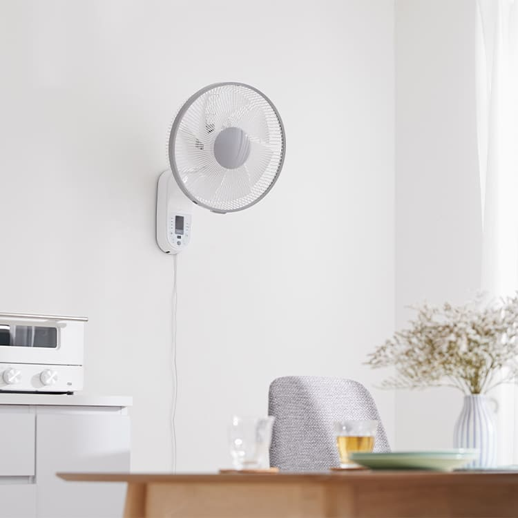 壁掛け扇風機のおすすめ13選。キッチンや脱衣所を涼しく