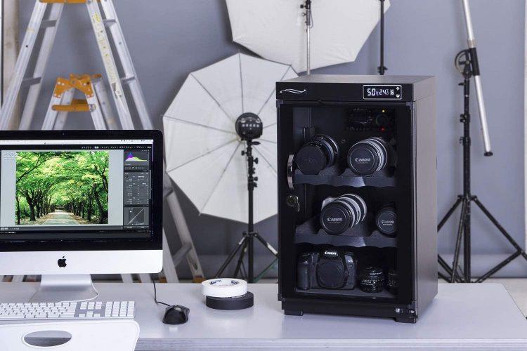 カメラ用防湿庫のイメージ