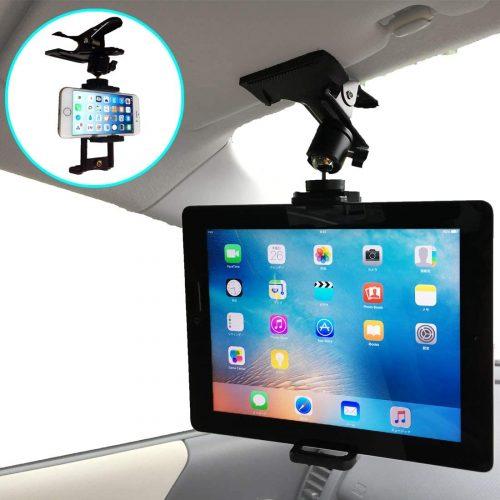 ナンマラ(Nanmara) 車載用 iPad タブレット クリップ ホルダー