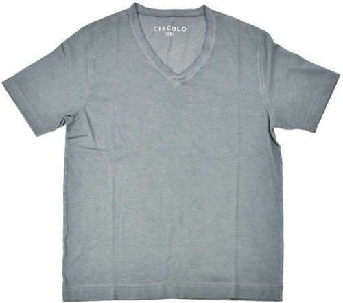 チルコロ1901(CIRCOLO 1901) 半袖 VネックTシャツ