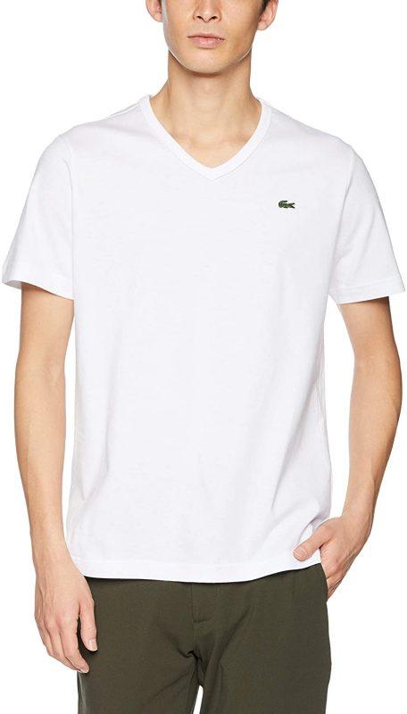 ラコステ(LACOSTE) メンズ ベーシック VネックTシャツ