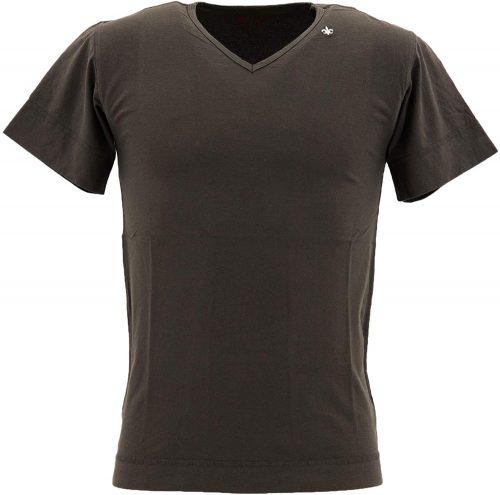 スウィープ(SWEEP!!) メンズ コットン 半袖 VネックTシャツ